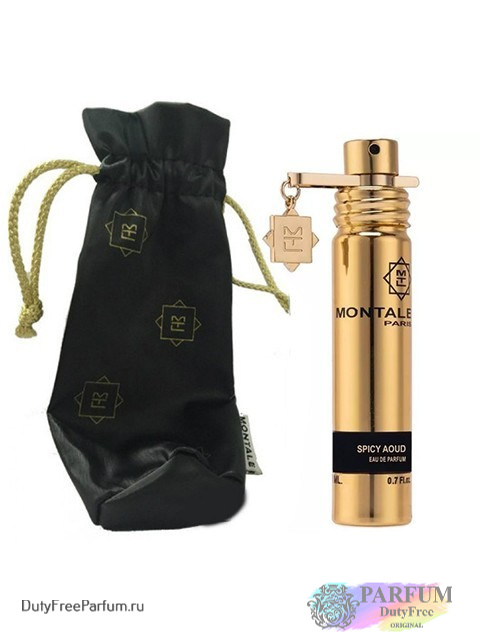 Парфюмерная вода Montale Spicy Aoud, 20 мл, Унисекс